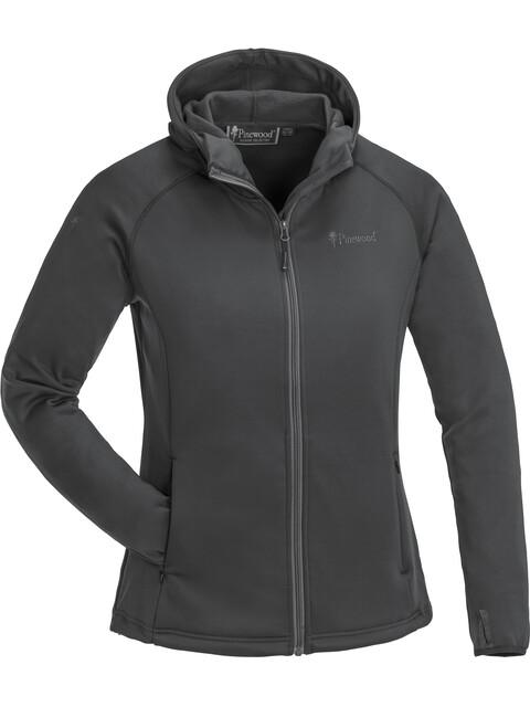 Pinewood W's Himalaya Active Fleece Sweater Dark Anthracite